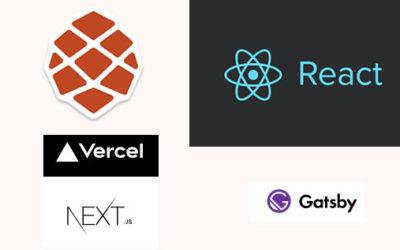 Comparaison des frameworks jamstack basés sur React.js